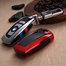 Ключа автомобиля чехол для BMW 520 525 f30 f10 F18 118i 320i 1 3 5 7 серии X3 X4 M3 M4 M5 E34 E90 E60 E36 FOB цепочка для ключей стайлинга автомобилей