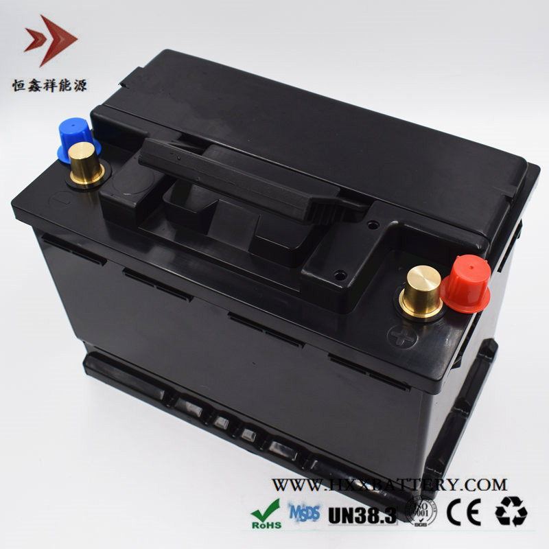 12 8V 80AH Lithium Iron Phosphate LiFePo4 Battery Pack Maintenance Free BMS for Auto Car Vehicle