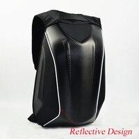 Dain Motorcycle Bag Moto Waterproof Hard Shell Motorcycle Trunk Backpack Multifunction Computer Double Shoulder Bag