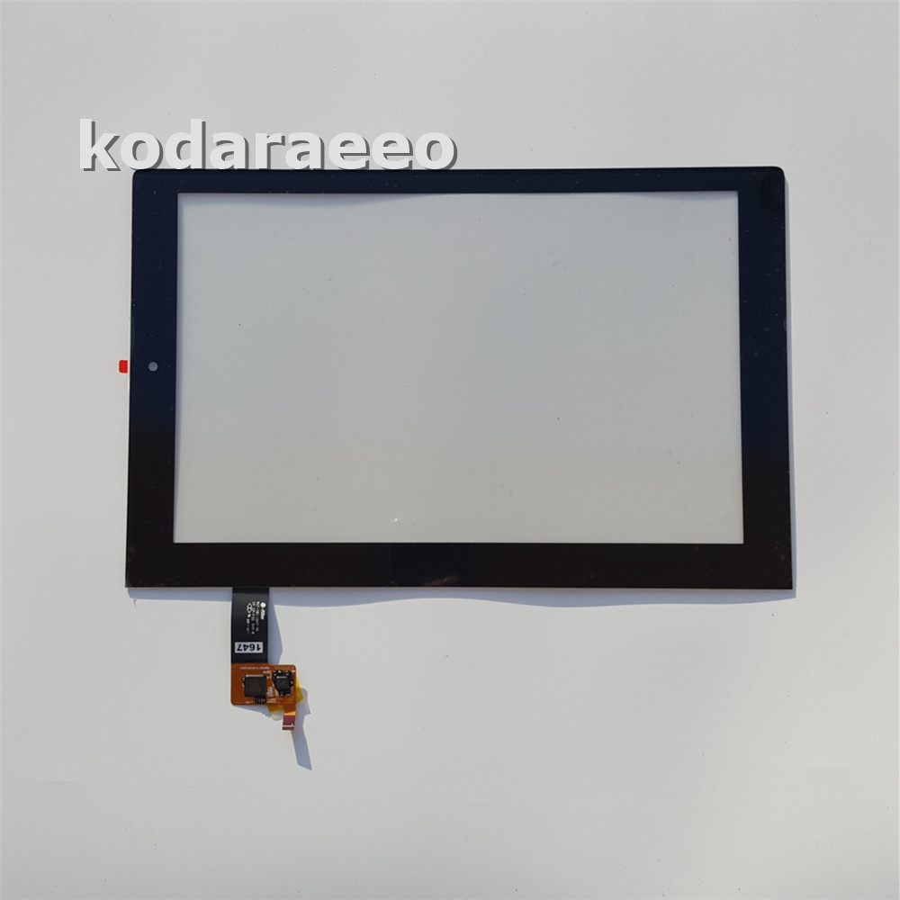 kodaraeeo For Lenovo Yoga Tablet 2 1051 1051F 1051L Replacement Touch Screen Digitizer Black Free Shipping new 101 1 inch for lenovo yoga tablet 2 1051 1051f 1051l lcd display monitor digitizer touch screen glass panel replacement