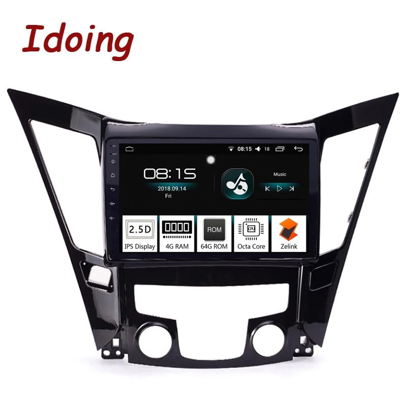 Idoing 10.21Din Car Android8.0 Radio Multimedia Player For Hyundai Sonata 2011-2015 GPS Navigation and Glonass 4G+64G Octa CoreIdoing 10.21Din Car Android8.0 Radio Multimedia Player For Hyundai Sonata 2011-2015 GPS Navigation and Glonass 4G+64G Octa Core