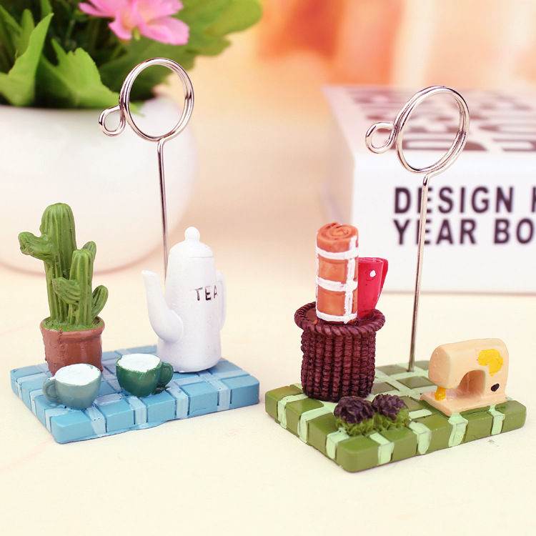 suministros de escritorio creativos adornos de resina para el hogar ms carne micro paisaje seala