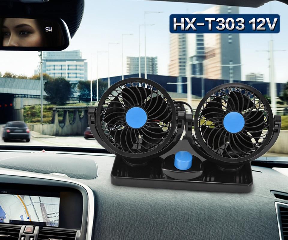24//12V Condizionatore portatile per auto veicolo Dash Mount 360 ° ventola di raffreddamento 2 INGRANAGGI