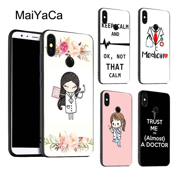 Phone Bags & Cases Cellphones & Telecommunications Silicone Cover Phone Case For Xiaomi Redmi S2y2 6 5 2 3 3s Pro Plus Redmi Note 4 4x 4a5a6a Nurse Doctor Dentist Tooth Injections