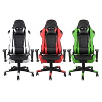 5 Color Style 360 Degree Rotation Gaming Chair High Back Computer Office Chair With Headrest Lumbar Support Racing Gaming Chair