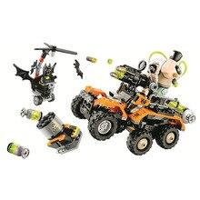 10737 BATMAN FILM Fleau Toxique Camion Attaque Blocs enfants Briques jouets Cadeau De Noel pour enfants Compatible Avec 70914