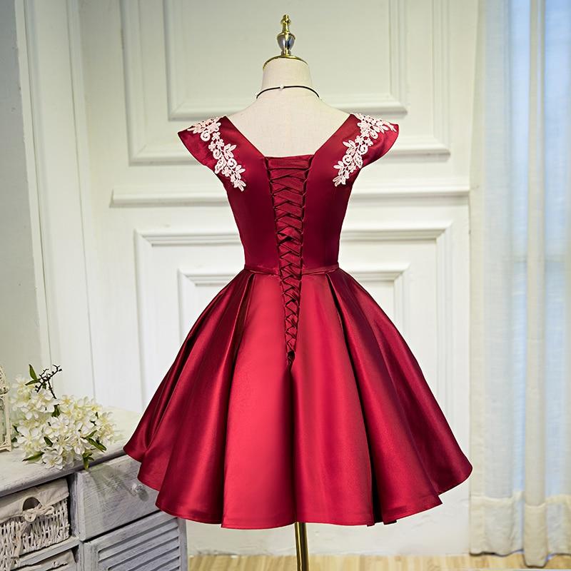 Beading Sequins Cap Sleeve Satin Lace Evening Dress 5