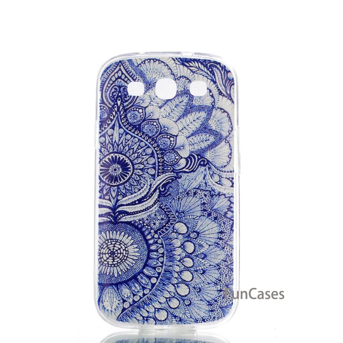 MKSUP Butterfly Case sFor Funda Samsung S3 Soft TPU Phone Case Fundas Squishy Flip Case Samsung S3 Externe capinhas