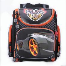 Kinder Schultaschen für Jungen Racing Autos Military Thema Rucksäcke EVA Gefaltet Wasserdichte Orthopädische Rucksack Grade 1-5 Kind Bolsas