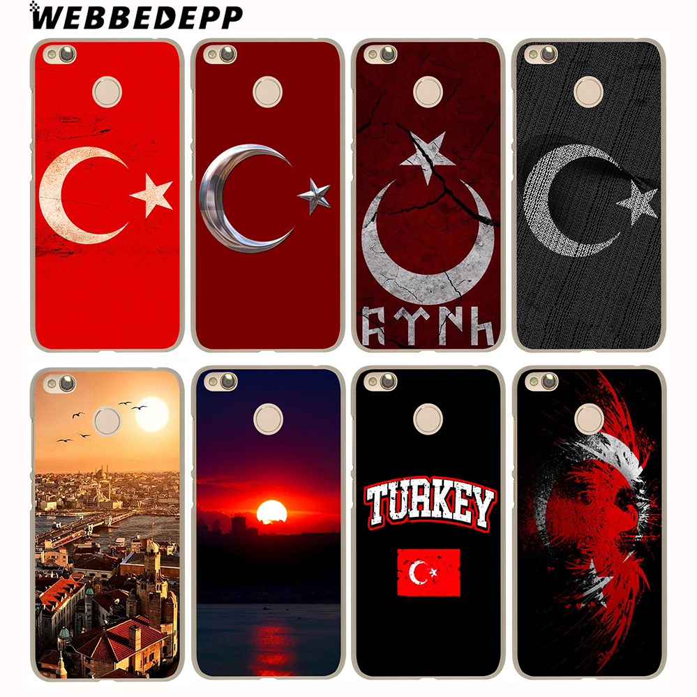 WEBBEDEPP Typography Flag of Turkey Antalya Case for Xiaomi Mi 8 SE A1 5S 6 Redmi 4A 5A 4X 5 Plus Note 5 Pro 4X