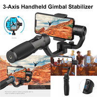 Vimble 2 Stabilizer 3 Axis Handheld Smartphone Gimbal with 183mm Extension Pole Tripod for iPhone Gopro Action Camera 2019