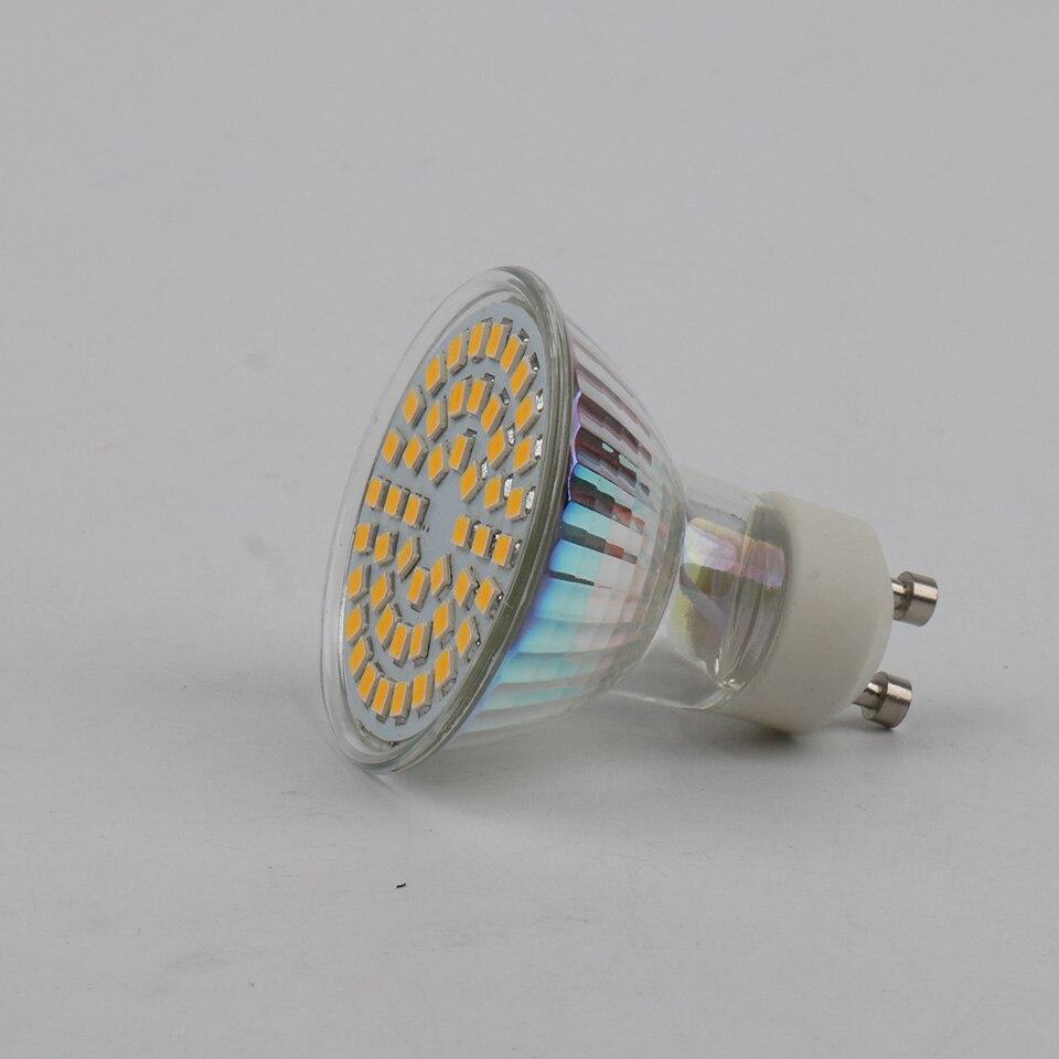 Gu10 2835 48 smd led lamp 220v bombillas led bulb - Bombilla led gu10 ...