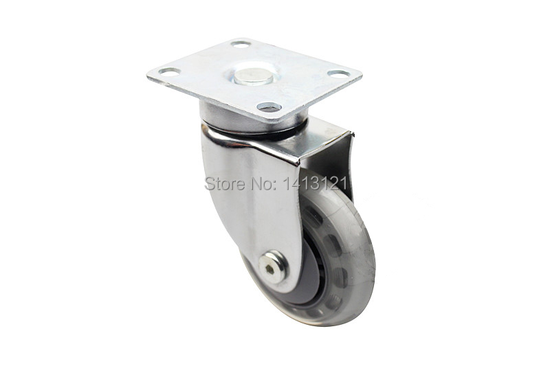 75mm furniture Silent Medical Caster hospital bed universal wheel Industry Business chair Equipment hardware Part free shipping 75mm furniture caster medical bed full plastic screw universal caster swivel medical equipment wheel with brake
