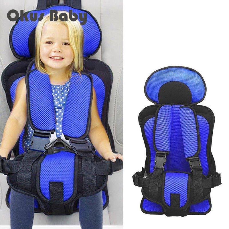 Portable In Car Child Safety Seats Infant Safe Children's Chairs Soft Comfortable Spong Adjustable Booster High Chair Cover