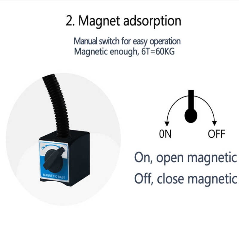 Станок рабочий свет 9 Вт 24/220 В 800 мм 1000 мм 1200 мм плюс длинная трубка машина Рабочий стол лампа магнит/винт база