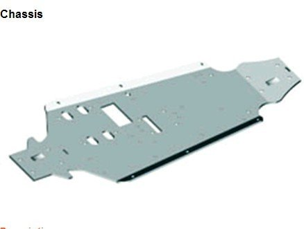 81033 Chassis HSP 1 8th Nitro Car Part 94081 94083 94085 94086 94087