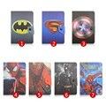 Spiderman Superman Cubierta de Cuero Universal de 7 pulgadas Para Lenovo TAB 2 A7-10 Para Lenovo A3500 Para Lenovo Tab A7-30 Tablet Y4A92D