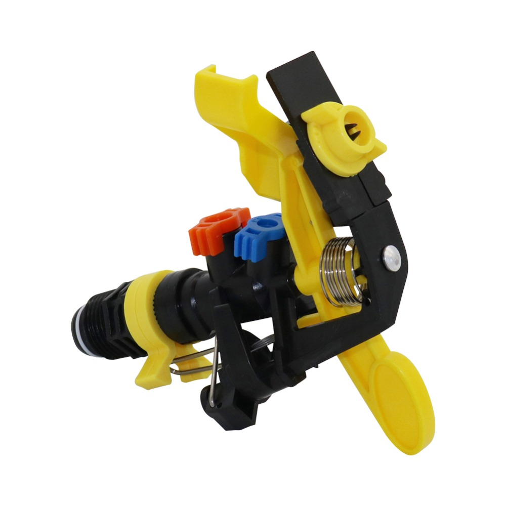 """HTB1k2hJXROD3KVjSZFFq6An9pXaf 1 Pc Double outlet Rocker nozzle 360 degrees rotary jet nozzle Agricultural garden Irrigation Sprinklers with 1/2"""" male thread"""