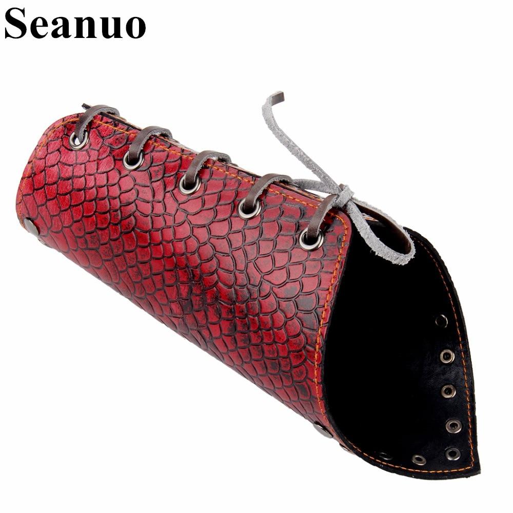 Seanuo Maximum Dragonscale Strap Wrist Protect Bracelet Jewelry For Men Women Vintage Punk Male Dragon Motorcycle Wrap Bracelets