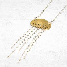 Niandi ожерелье из медузы золотой кулон в виде очаровательное