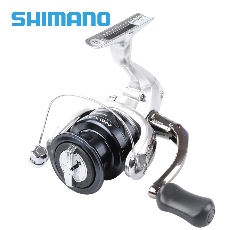 SHIMANO NEXAVE Spinning Fishing Reel 1000 2500 C3000 4000 6000 8000 Gear Ratio 4.9:1/5.0:1 3+1BB Saltwater Carp Fishing Reels