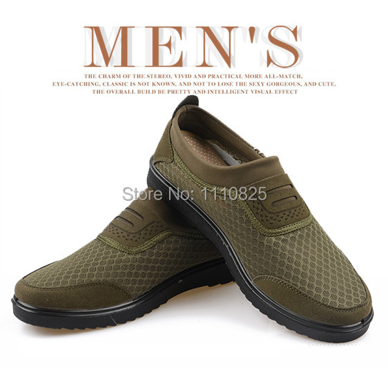 ФОТО Free shipping, special authentic old Beijing cloth shoes, summer ventilation net shoes, men shoes casual and comfortable