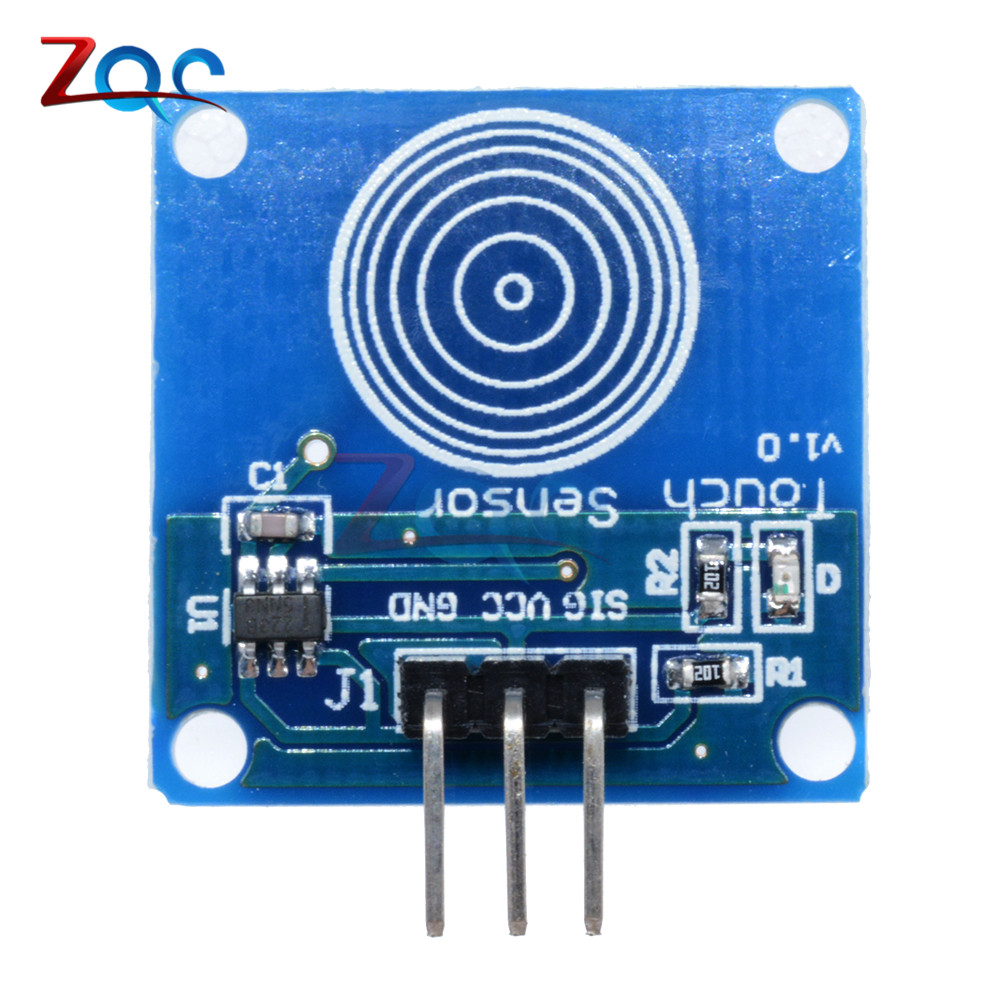 US $0 82 7% OFF|2pcs TTP223 TTP223B Jog Digital Touch Sensor Capacitive  Touch Switch Modules Accessories For Arduino Low Power DC 2V 5 5V-in  Pressure