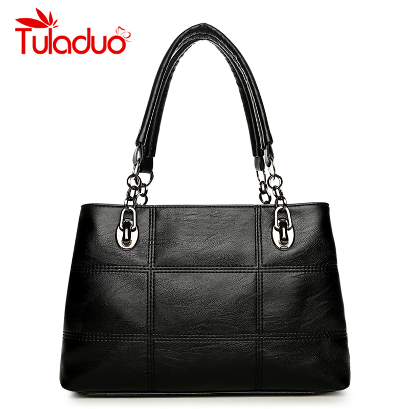 Women's Shoulder Bags PU Leather Plaid Bag Brand Designer Ladies Chain Handbag Women Casual Tote Bags High Quality sac a main pu high quality leather women handbag famouse brand shoulder bags for women messenger bag ladies crossbody female sac a main