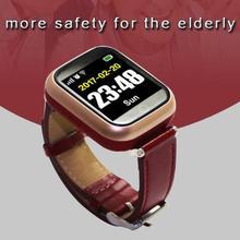 Q60 Idosos Relógio Inteligente for Old Men Melhor Presente com o Coração Rate Monitor SOS Relógio De Pulso GSM LBS GPS Wifi Segurança Localizador Anti-Lost