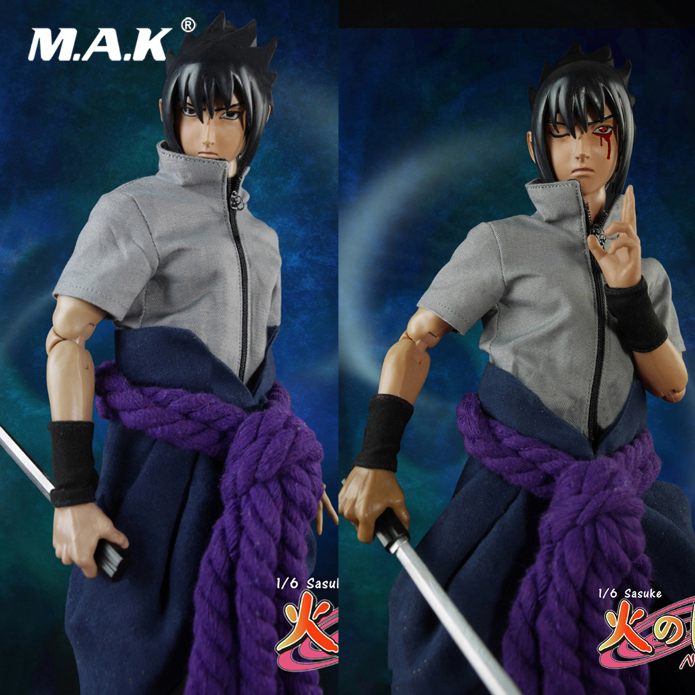 For Collection TT008 1/6 Full Set Ninja Sasuke Model Toys with Double Heads 12inch Action Figure for Fans Holiday Gift for collection full set action figure model fs 73005 1 6 us us delta special forces 1st sfod d figure model toys for fans gift
