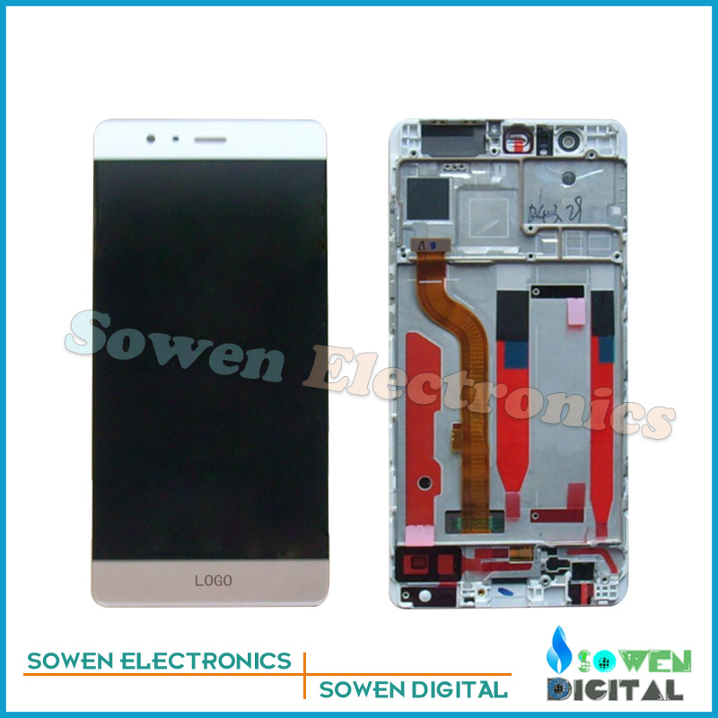 ФОТО for Huawei P9 EVA-L09 EVA-L19 EVA-AL00 LCD display Screen with Touch Screen digitizer with Frame bezel assembly full sets ,tools