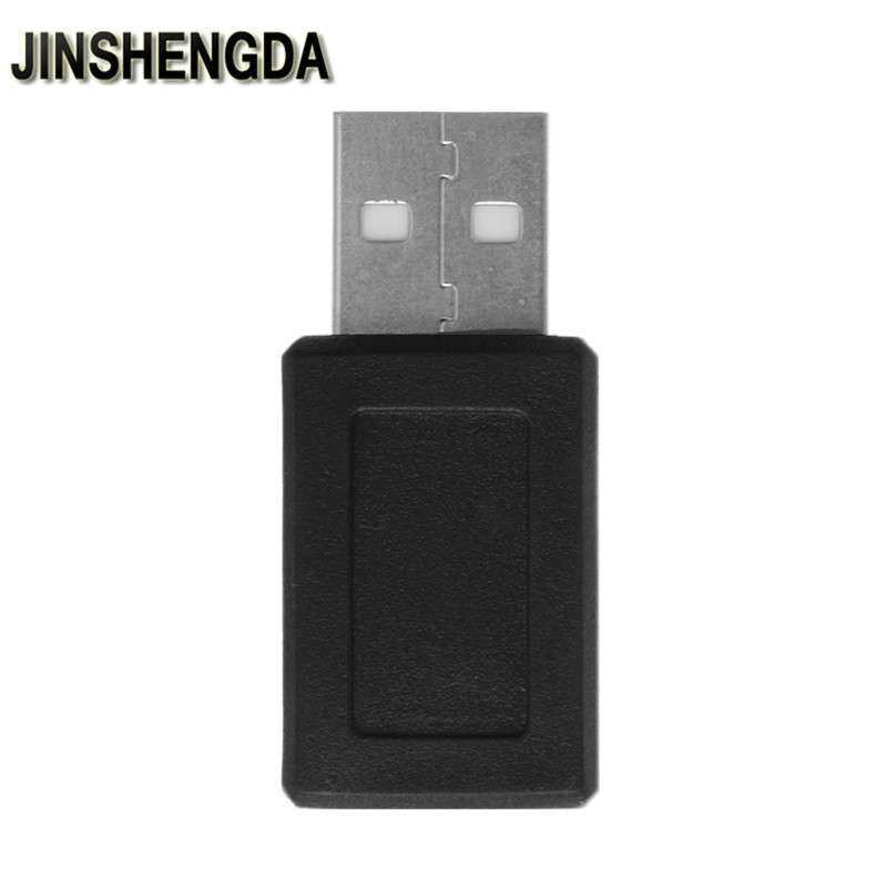 JINSHENGDA 1 PC USB 2.0 Type A Male To Mini USB 5-Pin Type B Female Connector Converter Adapter 10pcs g45 usb b type female socket connector for printer data interface high quality sell at a loss usa belarus ukraine