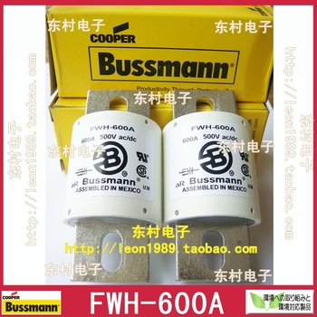US imports Bussmann Fuses FWH-600A 600A 500V FWH-600A Fuse