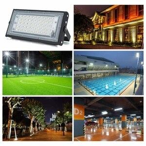 Image 5 - 4pcs/lot 50W Led Flood Light AC 220V 230V 240V Outdoor Floodlight Spotlight IP65 Waterproof LED Street Lamp Landscape Lighting