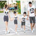 2016 соответствующие одежды, - Мать - дочь - одежда, Отец сын рубашка, Семья соответствующие одежды, Boby одежда для девочек, Дети устанавливает