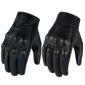Image 3 - Rękawice motocyklowe skórzany ekran dotykowy mężczyźni oryginalne rękawice rowerowe koziej skóry wyścigi motocyklowe Guantes De rękawice motocyklowe De Motocicleta