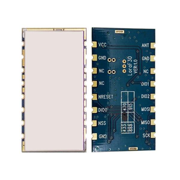 2pcs/lot Lora1276F30 - 27dBm sx1276 LoRa Module small size 6Km to 8Km 868MHz | 915MHz high power 500mW long range RF transceiver