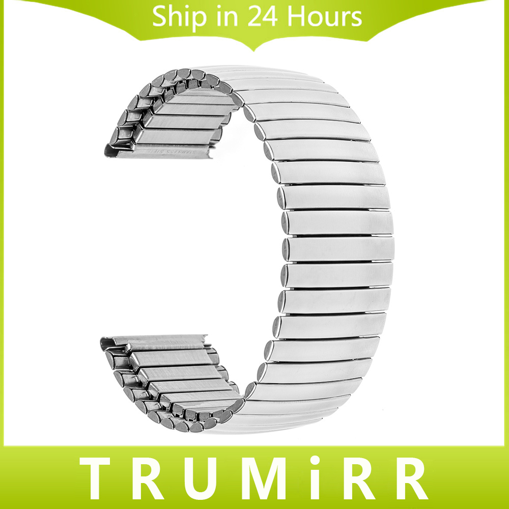 18mm 20mm Elastic Watchband Stainless Steel for DW (Daniel Wellington) Watch Band Wrist Strap Belt Bracelet Silver + Tool + Pins
