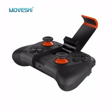 Moveski Mocute 050 Wireless Game Controller Phone Gamepad for Android smartphones iPad TV / PC