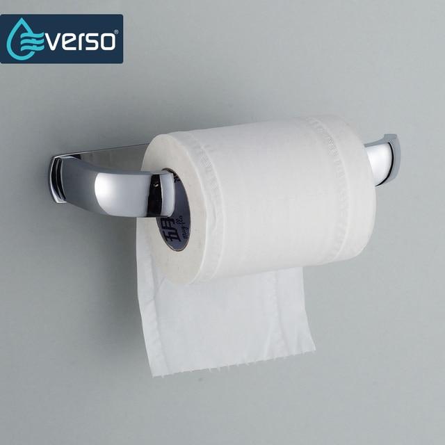 EVERSO Acier Inoxydable Rouleau De Papier Toilette Titulaire Wc  Porte,Rouleau de Papier Tenez Mur