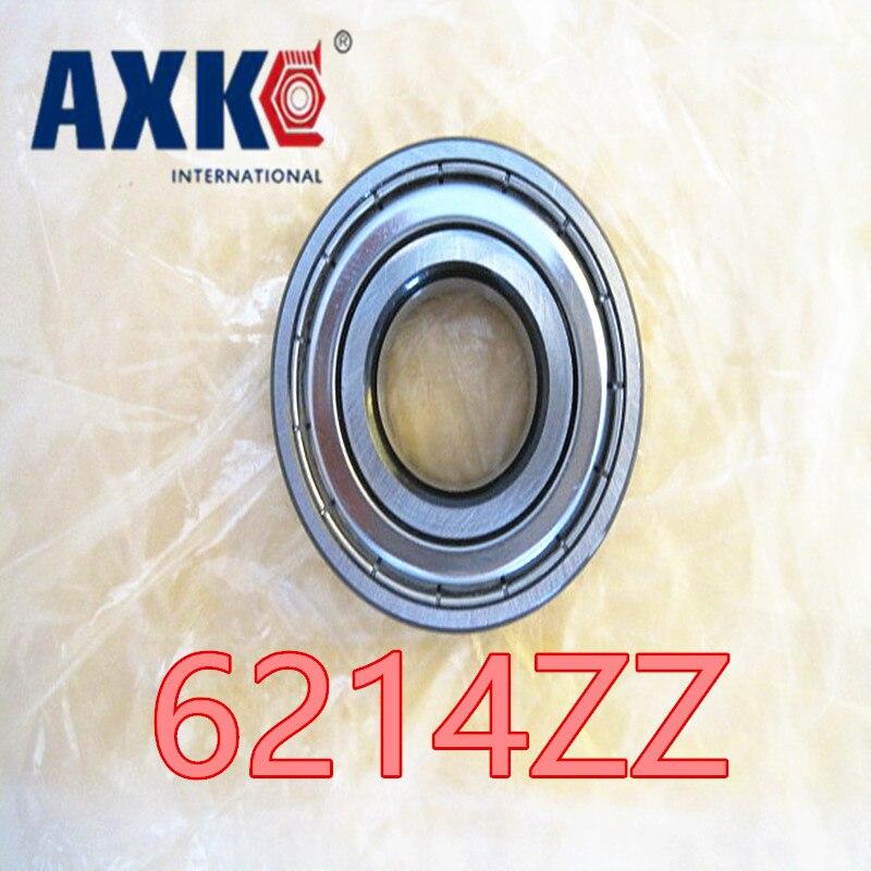 6214ZZ 6214-2RS Bearings 1pcs 70x125x24 mm Ball bearing Black edging and Black corner high speed bearing best quality feron 6214 11207