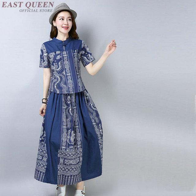 646a9b2ad60a Traditional Chinese dress clothing for women oriental modern qipao ao dai  cheongsam style dress female AA4063