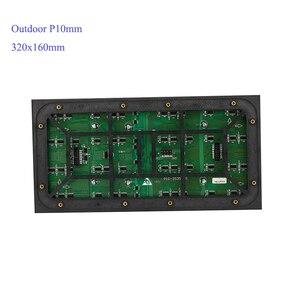 Image 1 - Grand panneau daffichage publicitaire P10mm module prix polychrome 320x160mm SMD3535 affichage LED extérieur/écran LED/mur vidéo LED