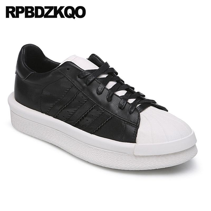 Casual Skate Negro Lujo Zapatillas Plataforma Deporte surtidos Y Famosa Negro Los Marca Blanco Piel De Enredaderas Genuino Hombres Moda Vaca blanco Cuero Zapatos qw6pOUWxt