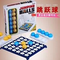 Família feliz Brinquedos Interativos Pulando Bola Jogo de Tabuleiro Para Crianças Jogos de Partido Boate KTV Portátil Beber Brinquedo Da Novidade Presentes