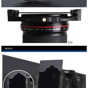 Image 5 - Übrigens 100mm ND Quadratische kamera filterhalter & adapter ring für Cokin lee Nisi Zomei 100*100 100*150mm Filter