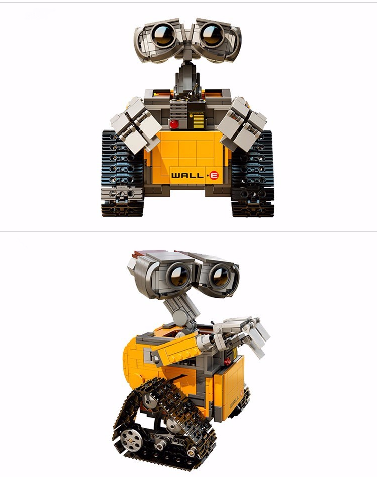 687Pcs Lepin 16003 Idea Robot WALL E Building Set Kit Minifigure Toy for Children WALL-E 21303 Educational Bricks Christmas gift (4)