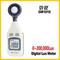 RZ Бесплатная доставка GM1010 люкс Измерительный диапазон 0Lux ~ 200 000Lux/0Fc ~ 185 806Fc