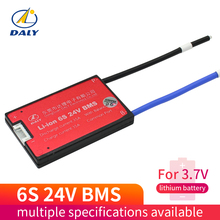 6S 24V 15A 25A 35A 45A BMS Battery Management System PCM PCBA 18650 accessories for 18650 Lithium Ion Battery Pack With Balance