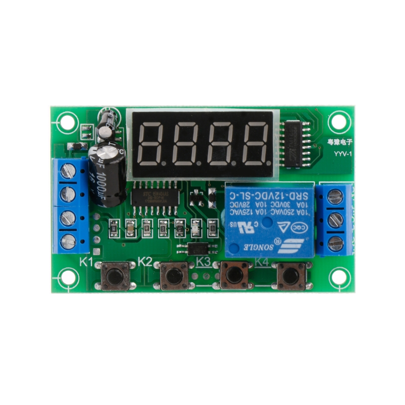 DC 12V Charging Discharge Switch Control Module Voltage Monitor Switch Board -B119 dc 12v led display digital delay timer control switch module plc automation new